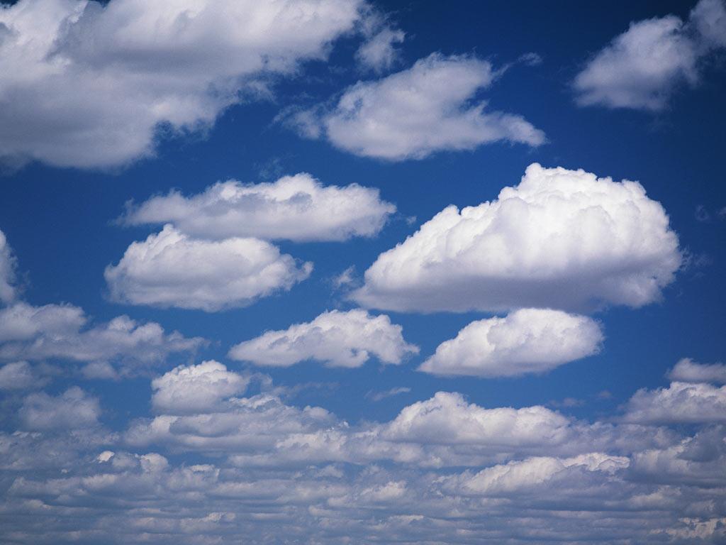 картинки облака осень